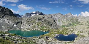 Панорама Горные озера