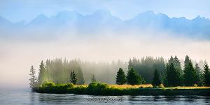 Панорама реки Иркут