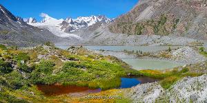 Панорама горных озер