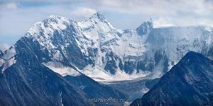Панорама горы Белухи