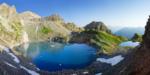Панорама Софийских озер Кавказ