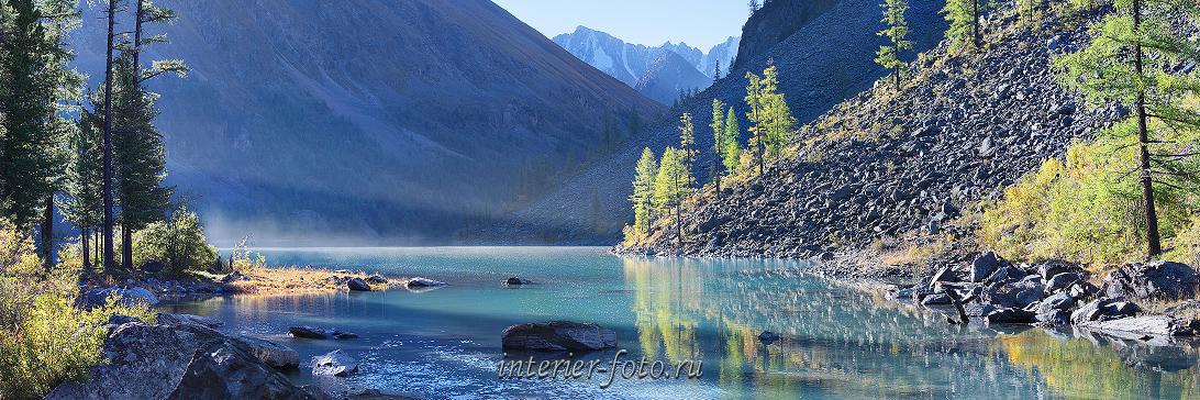 Панорамный формат Озеро