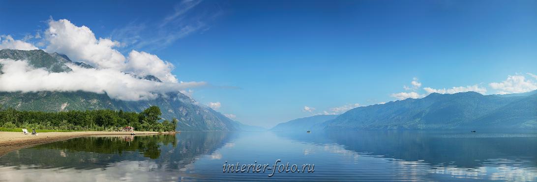 Пейзаж с Телецким озером