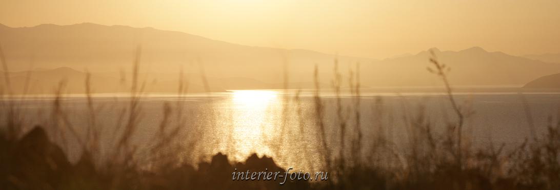 Пейзаж с водой Рассвет
