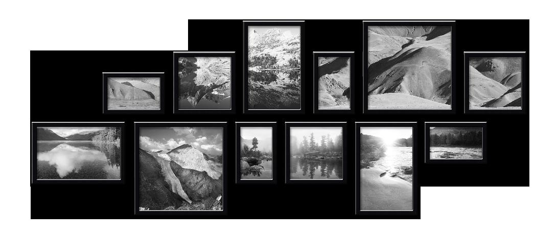 Полиптих из 12 фотографий