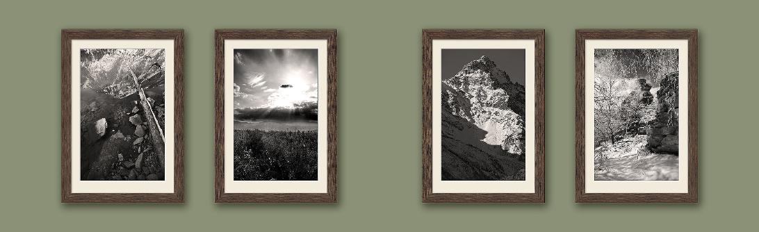Полиптих из 4 фотографий