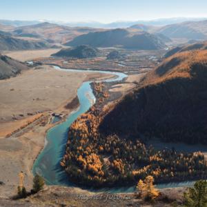 Долина Чуи с Белькенека Алтай