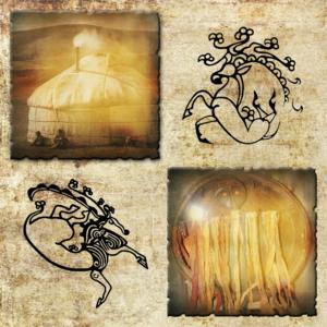 Панно алтайские татуировки