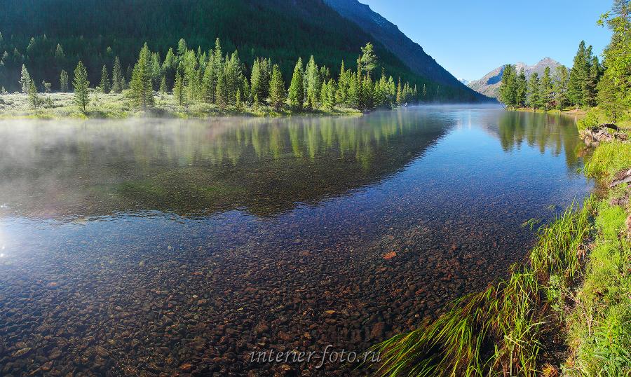 Таежное озеро Алтай