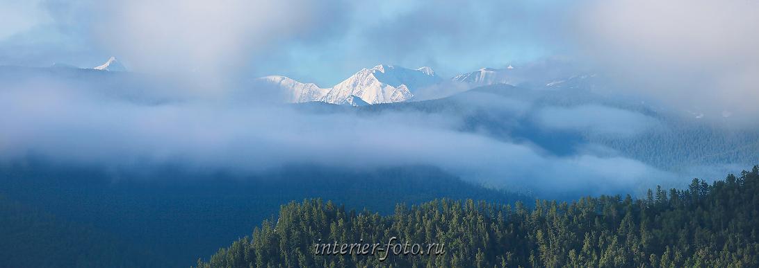 Туманные дали Горы