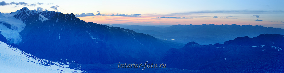 Вечерний пейзаж Горы