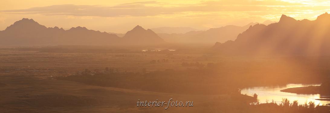 Виды пейзажа Тува