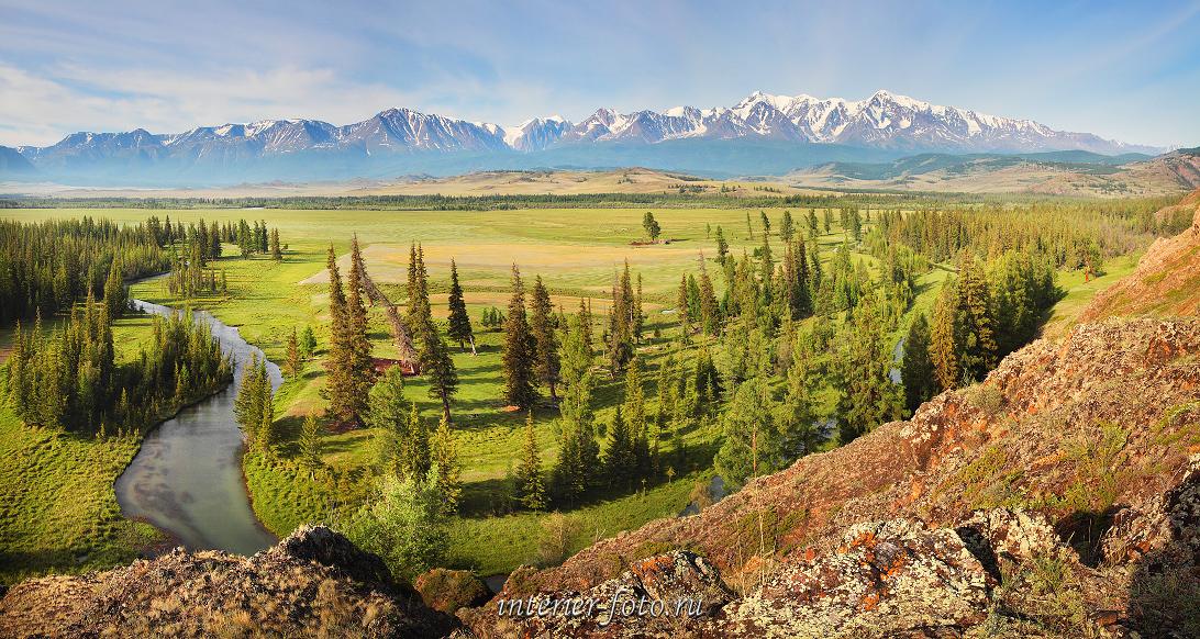 Виды пейзажа Алтай