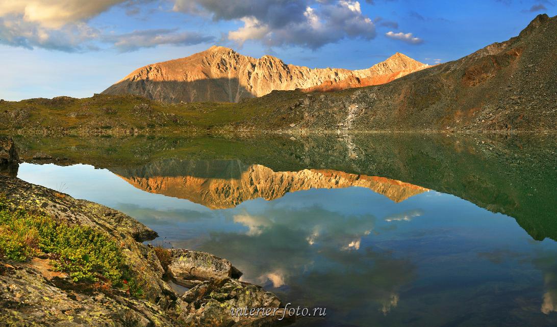 Взгляд на природу Горное озеро