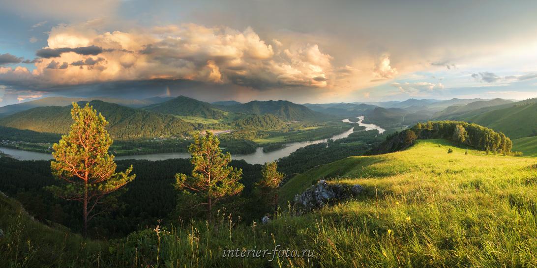 Живописная местность Алтай